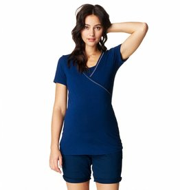 Noppies Vera nursing t-shirt in Midnight