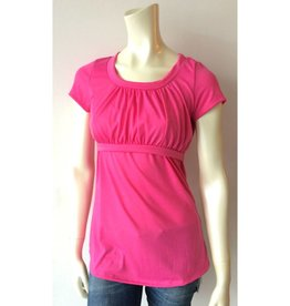 Ashley Nicole Pink Cotton Nursing Top