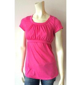 Pink Cotton Nursing Top