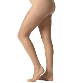 Sheer maternity pantyhose Beige