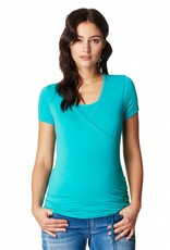 Noppies Noppies Vera nursing & maternity t-shirt in Petrol