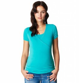 Noppies Vera nursing t-shirt in Petrol