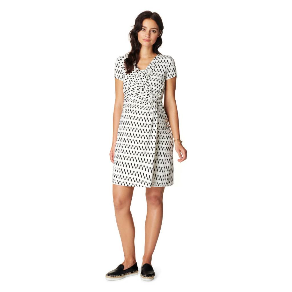 Noppies Fern faux-wrap nursing dress