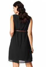 Noppies Noppies Marit printed maternity dot dress in Black