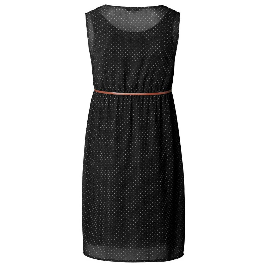 Noppies Marit printed maternity dot dress in Black
