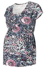 Noppies Jane cap sleeve print nursing top