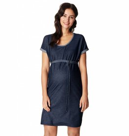 Maure maternity denim dress