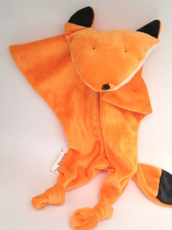 Papoum-Papoum Papoum Red Fox lovey toy