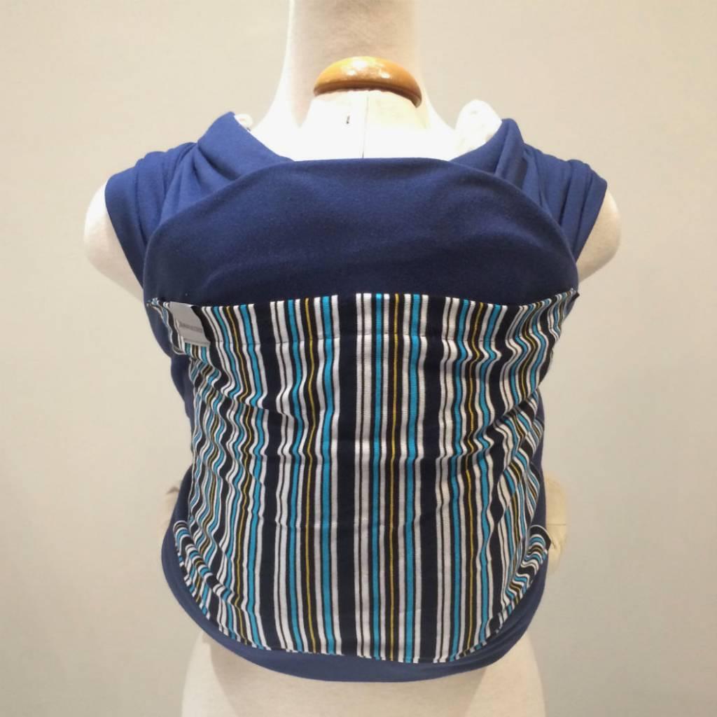 Maman Kangourou Stretchy Wrap - Navy Stripe