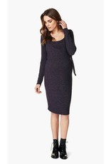 Noppies Giulia Nursing Sweater Dress in Purple