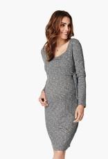 Noppies Giulia Nursing Sweater Dress in Grey