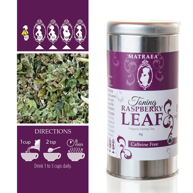 Matraea Toning Raspberry Leaf Tea