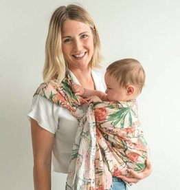 Junior Foxes Junior Foxes ring sling linen Flamingo