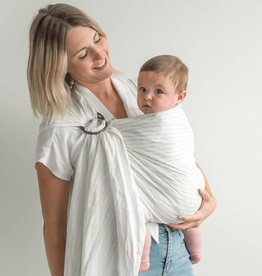 Junior Foxes Junior Foxes ring sling Raleigh striped linen