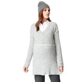 Harriet long maternity sweater
