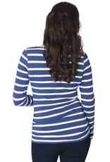 Momzelle Emma striped nursing top