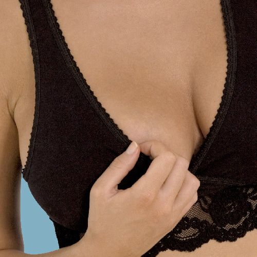 Carriwell Lace Nursing bra in Black