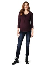 Noppies Avi Aged Blue Skinny maternity jeans