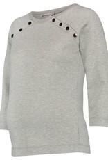 Queen Mum nursing sweatshirt in Grey