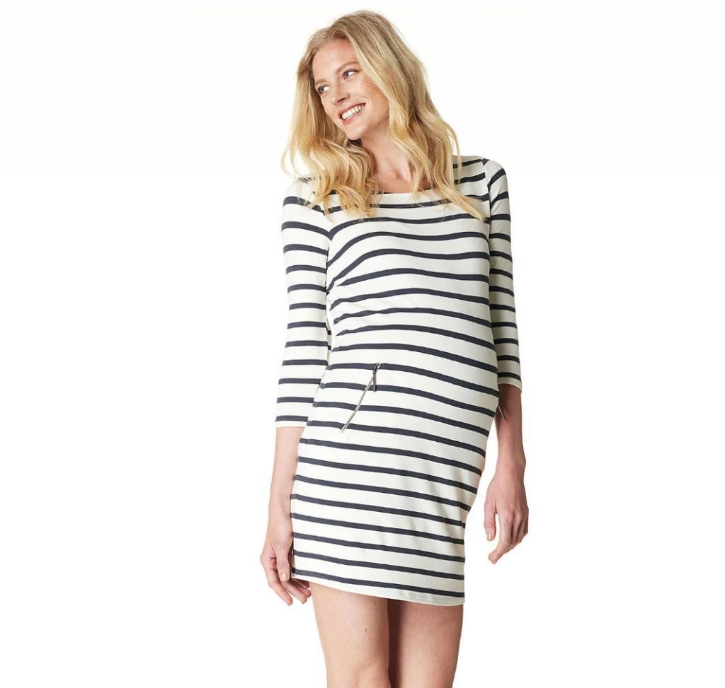 Noppies Anke Striped maternity dress