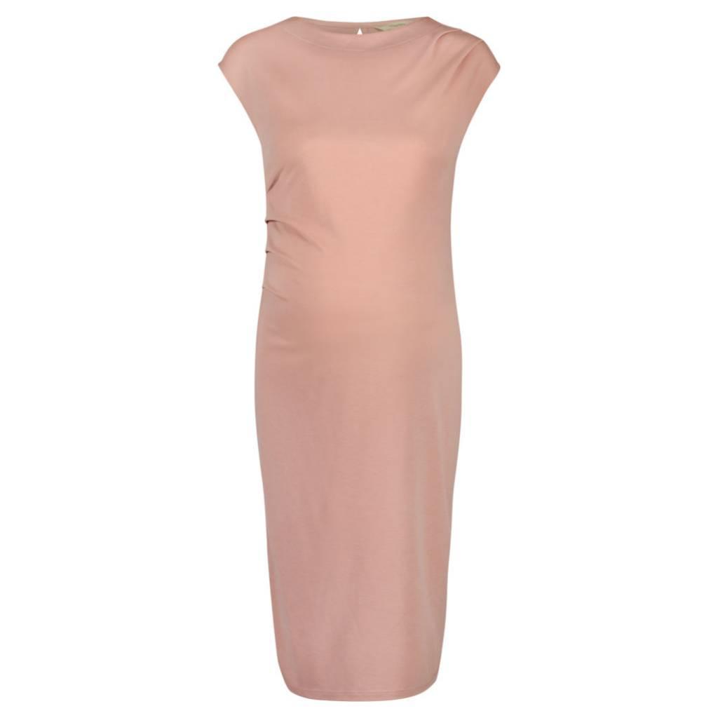 Noppies Annefleur maternity sheath dress in Blush