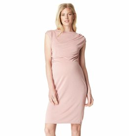 Annefleur maternity sheath dress in Blush