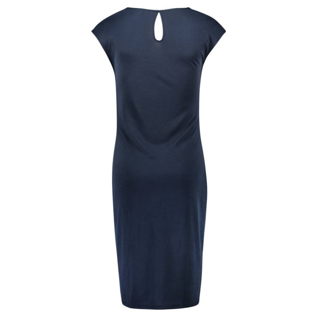 Noppies Annefleur maternity sheath dress in Navy