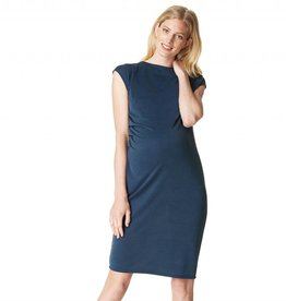 Annefleur maternity sheath dress in Navy