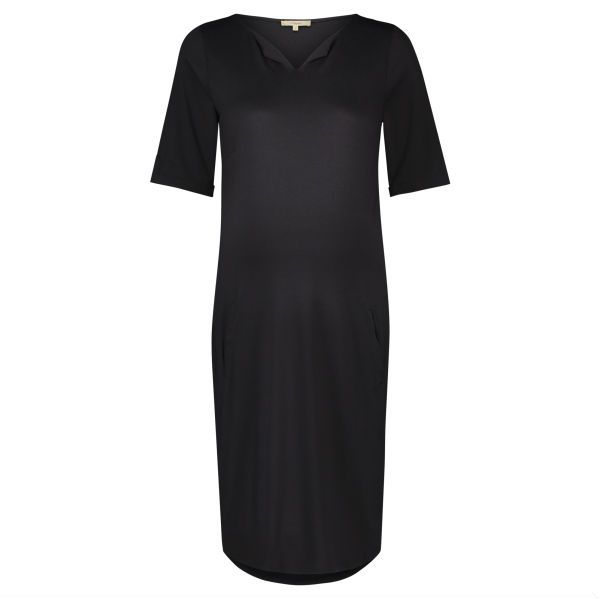 Noppies Angelique maternity dress in Dark Grey