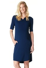 Noppies Angelique maternity dress in Navy