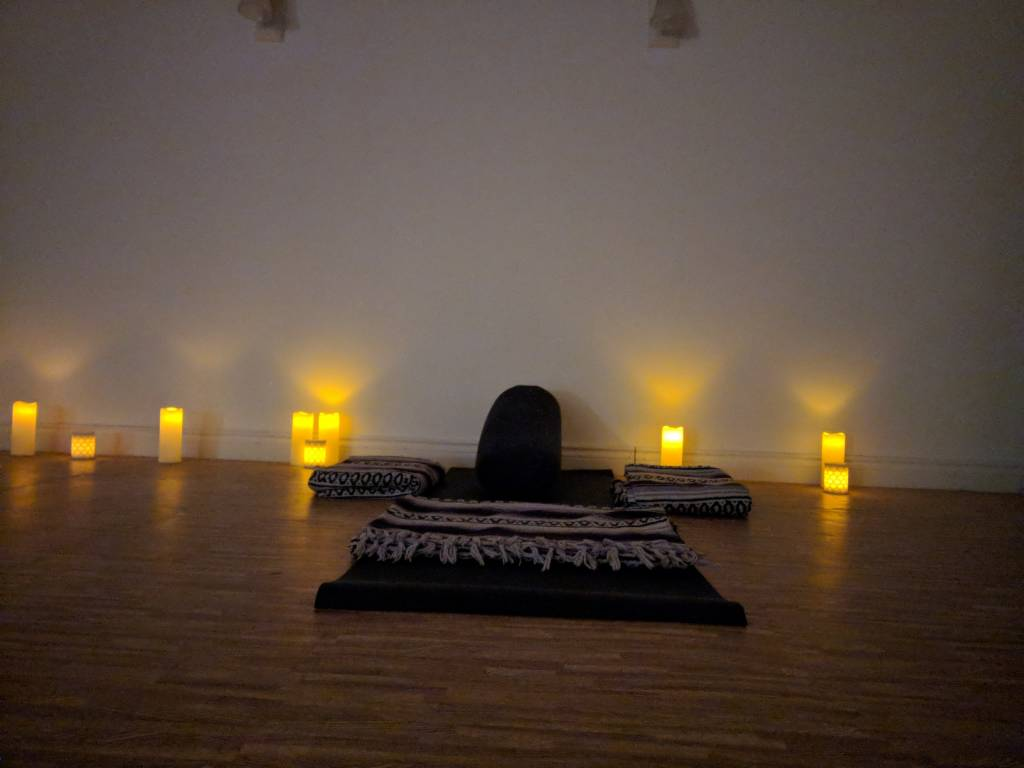 Candlelight Flow & Restore Yoga