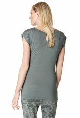 Noppies Bella nursing top in Light Army