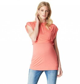 Bella nursing top in Coral