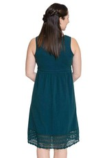 Momzelle Cecile cotton dress in Teal