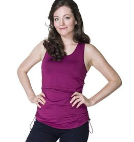 Chloe nursing yoga top Orchid