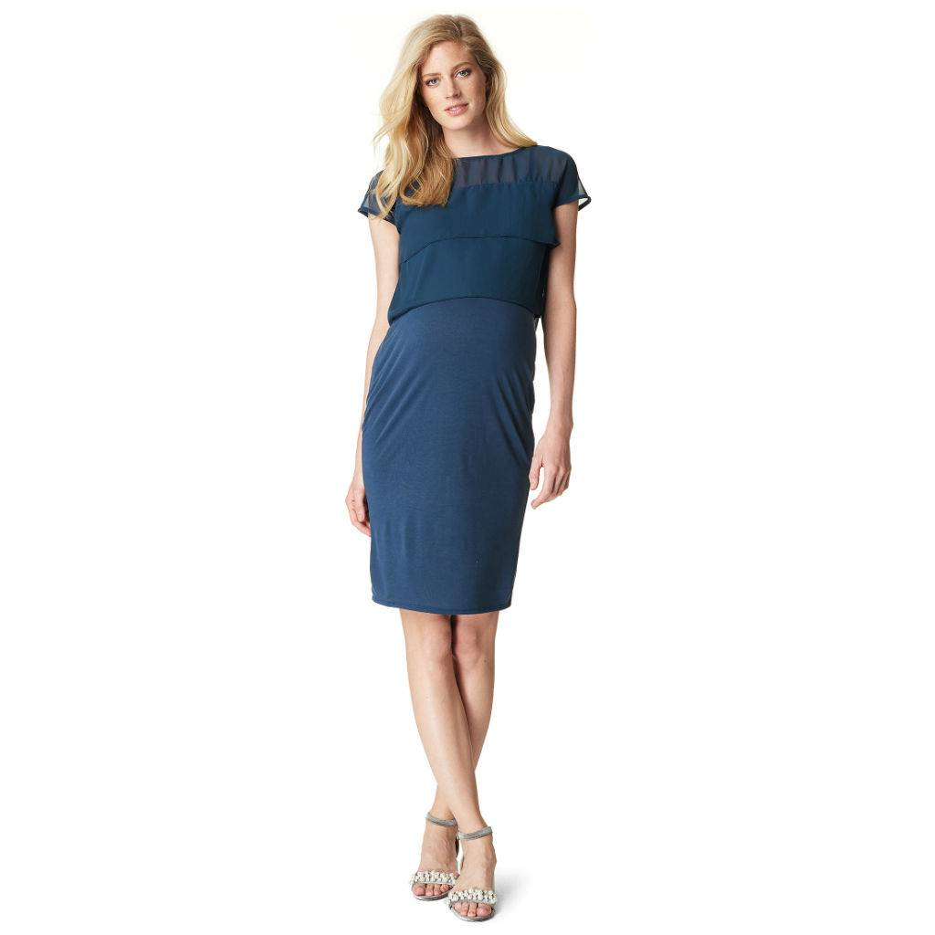 Noppies Daisy nursing dress in Navy