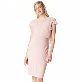 Daisy nursing dress in Rose