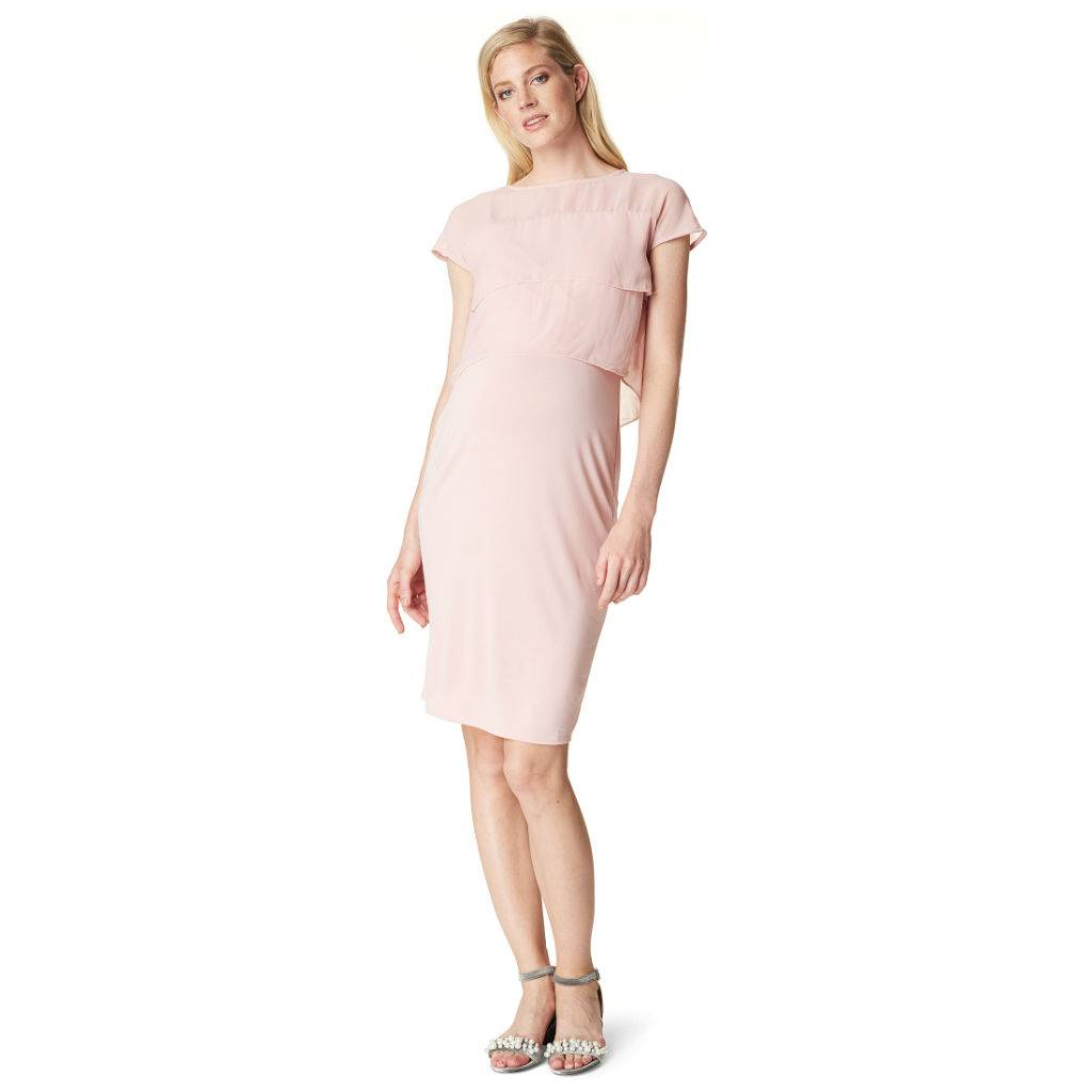 Noppies Daisy nursing dress in Rose