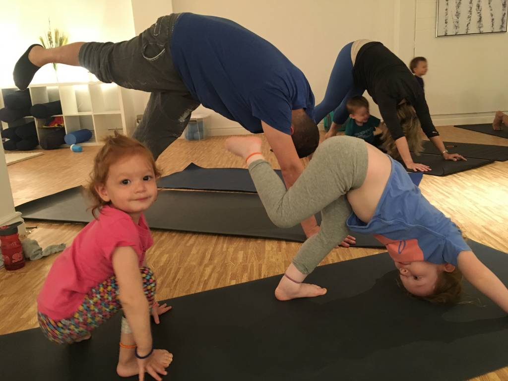 Yoga for tots