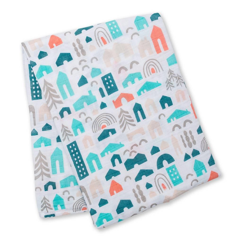 Lulujo Muslin blanket - Neighbourhood