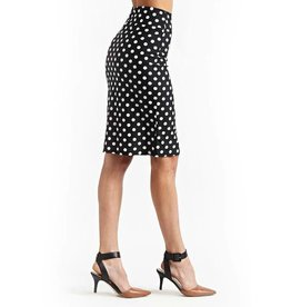 Pencil Skirt - Polka Dot