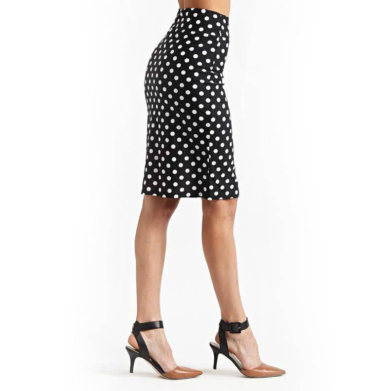 It Fitz Me! Pencil Skirt - Polka Dot