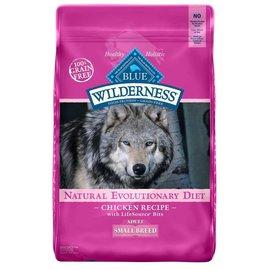 Blue Buffalo Blue Wilderness Small Breed Chicken Grain-Free Dry Dog Food 4.5-lb Bag