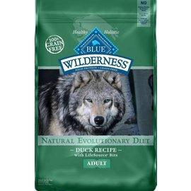 Blue Buffalo Blue Buffalo Wilderness Adult Duck Grain-Free Dry Dog Food 4.5-lb Bag