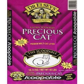 Precious Cat Dr. Elsey's Precious Cat Ultra Scented Litter 40lb