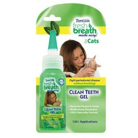 TropiClean TropiClean Fresh Breath Clean Teeth Gel Kit for Cats, 2-oz Bottle