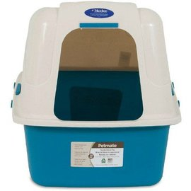 "Petmate Petmate Hooded Litter Box Set with Microban 19""x15""x7"