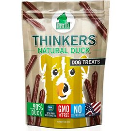 Plato Pet Treats Plato Thinkers Duck Dog Treats, 10-oz Bag