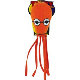 VIP Products VIP Products Tuffy Ocean Series Mega Squid Orange Dog Toy