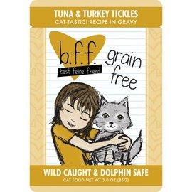 Weruva Weruva BFF Tuna & Turkey Tickles Cat Food, 3oz Pouch